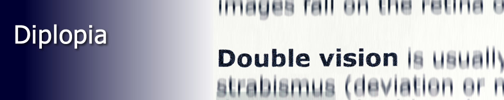 Double vision doesn't have to part of your daily life.