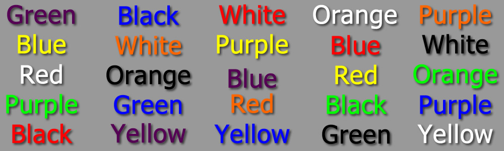 the stroop effect automatic and controlled Can someone please describe inferences and automatic and controlled processing in terms of the stroop task / effect any information anyone can give me about anything to do with this topic would be good.
